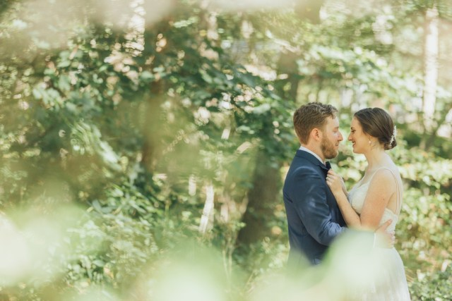 Connecticut garden wedding