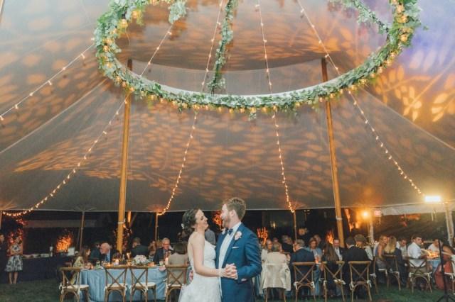 Connecticut garden wedding