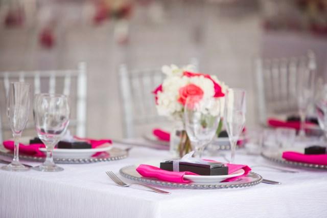 pink Florida Keys wedding