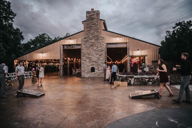 rustic Missouri vineyard wedding