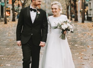 Seattle winter wedding