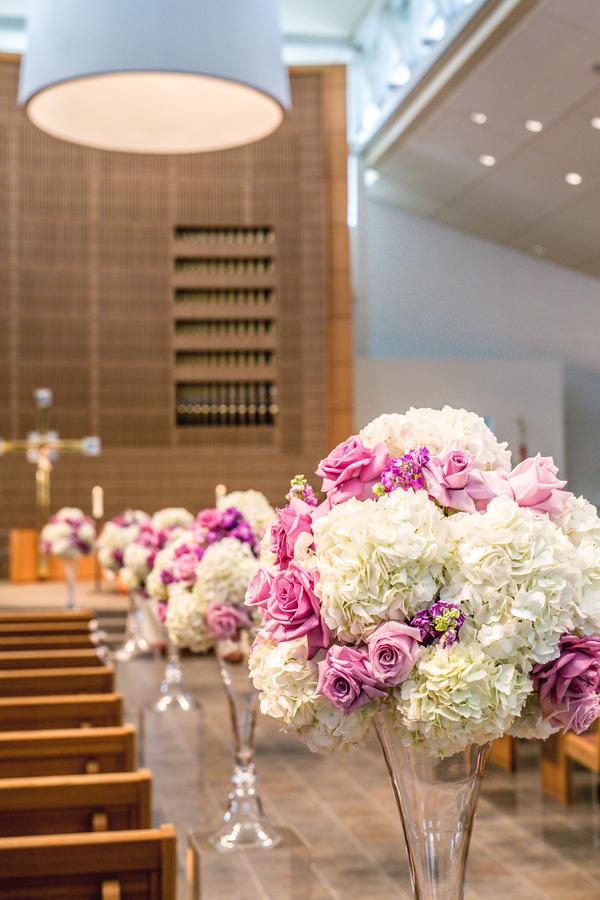 Polish purple wedding