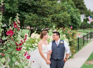 colorful Michigan wedding