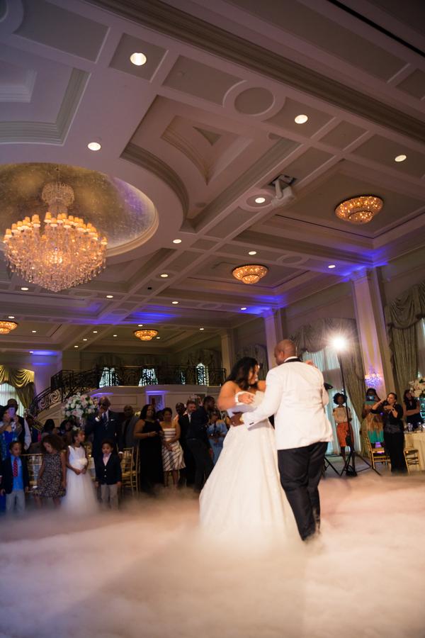 elegant ballroom wedding