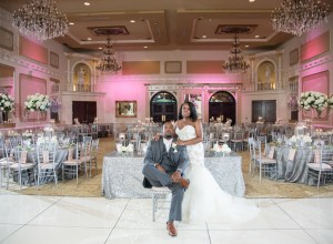 glamorous North Carolina wedding