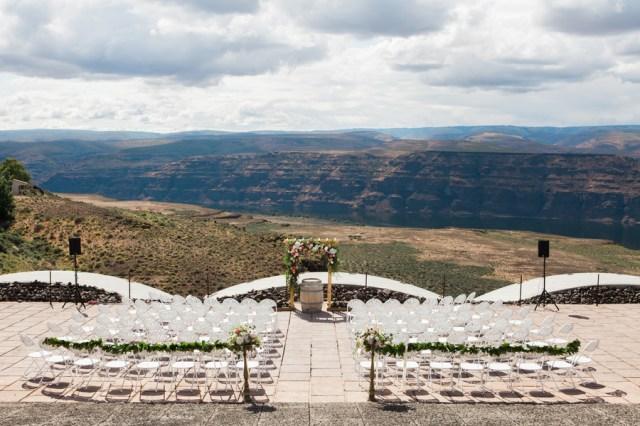 Washington winery wedding