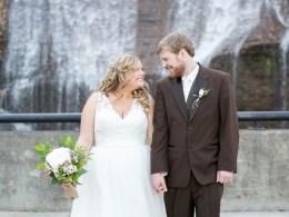 rustic gold wedding