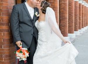 Tampa summer wedding