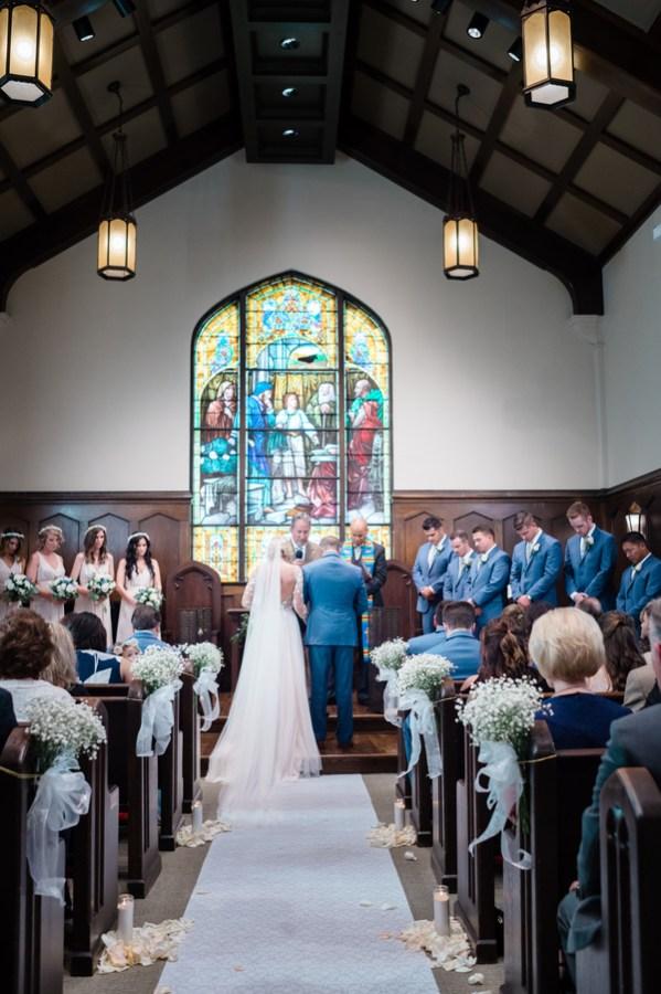 romantic Illinois wedding
