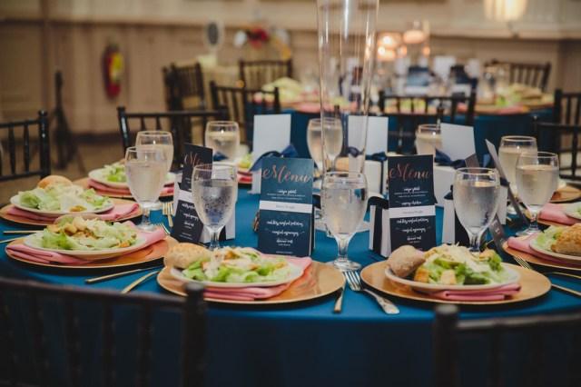 elegant blue wedding