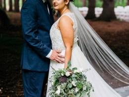 woodsy Michigan wedding