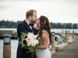 waterfront hotel wedding