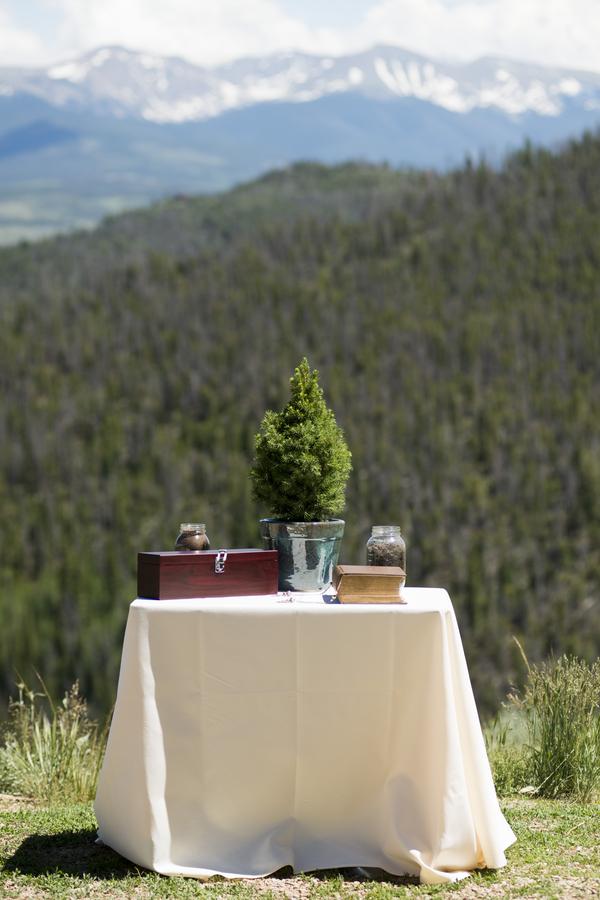 Colorado lodge wedding