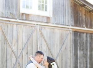 romantic farm wedding