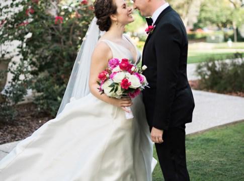 elegant pink wedding