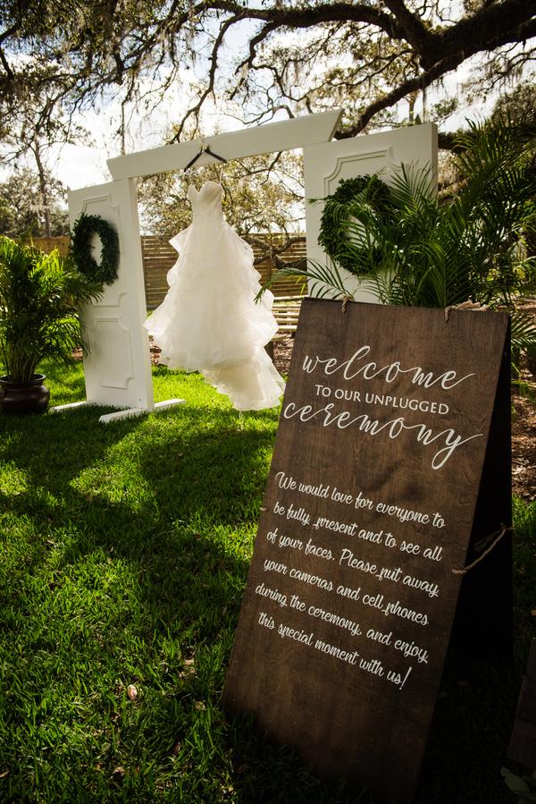 rustic Florida wedding