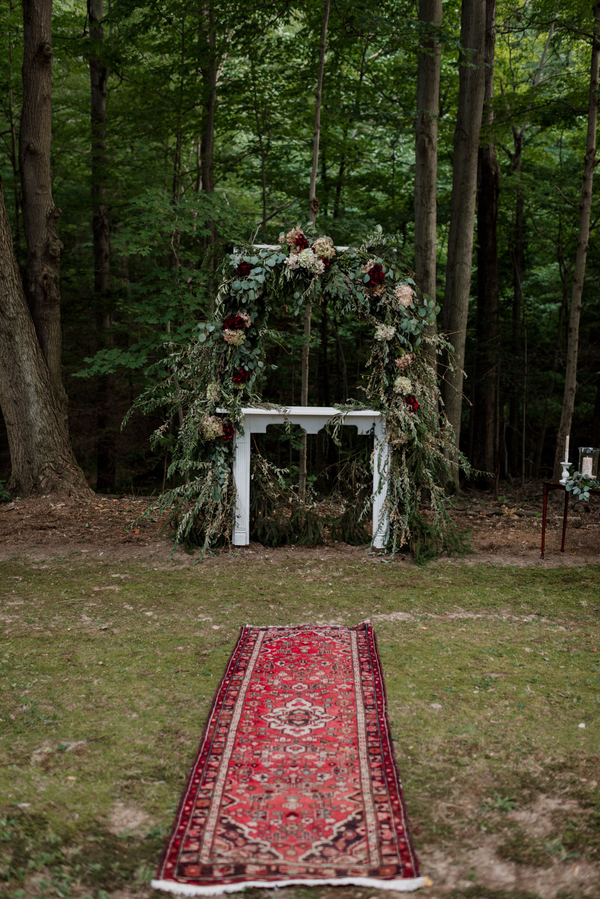 boho farm wedding