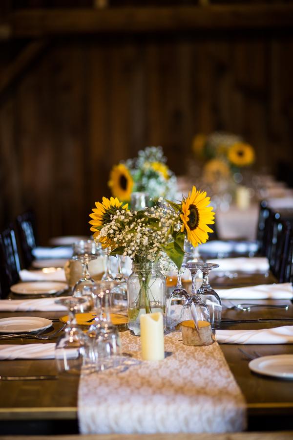 rustic Ontario wedding