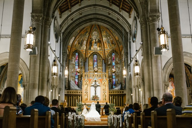 elegant Pittsburgh wedding