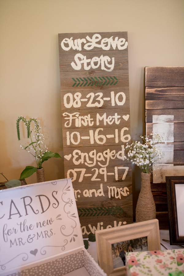 romantic rustic wedding