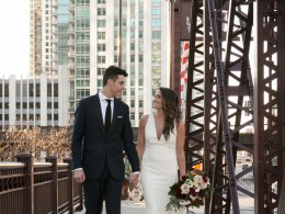 modern fall wedding