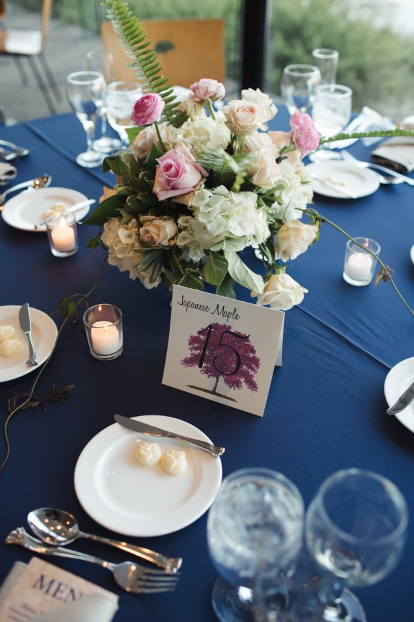 navy spring wedding