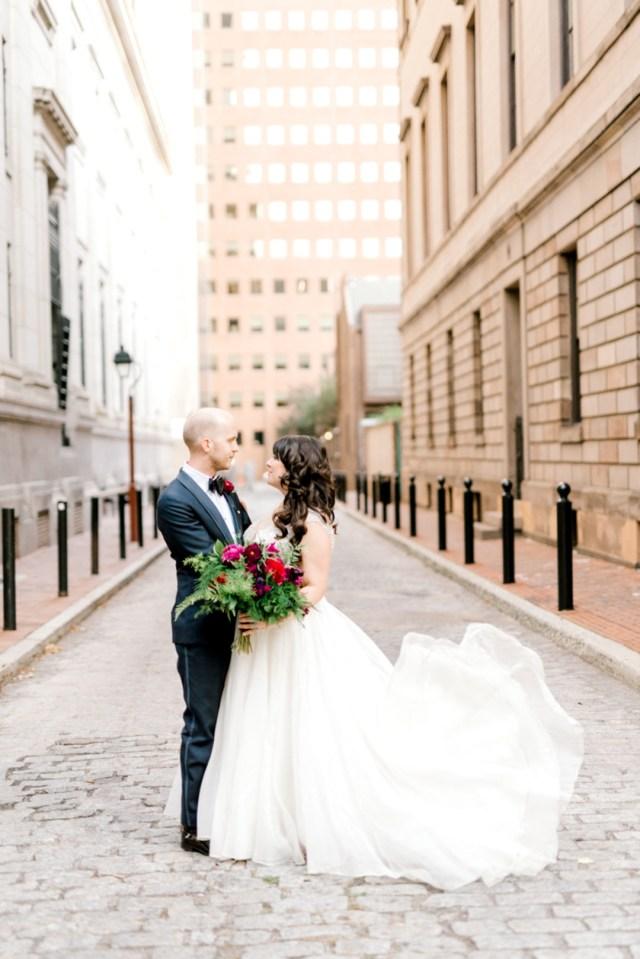 art deco Philadelphia wedding