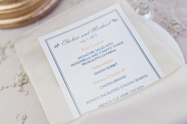 elegant gold wedding