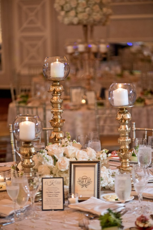 elegant gold wedding