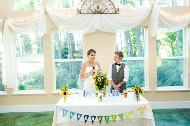 outdoor Oregon wedding