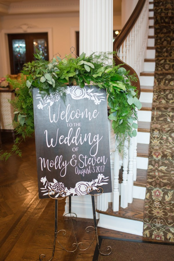 summer greenery wedding