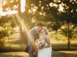 modern farmhouse wedding
