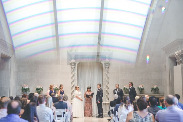 art museum wedding