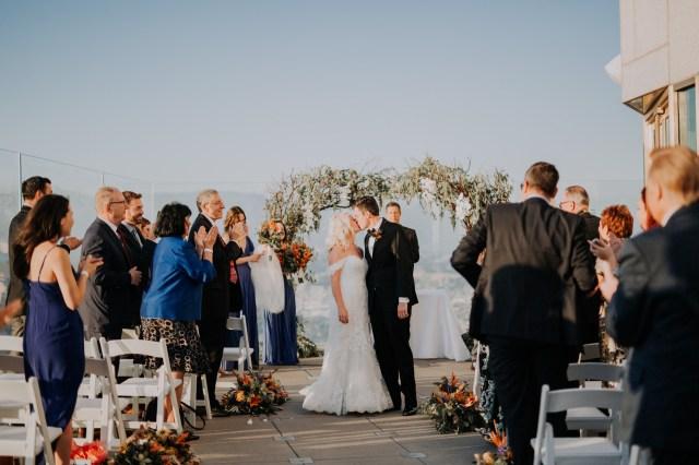 modern urban wedding