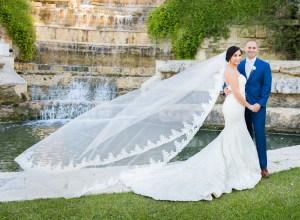 white outdoor wedding