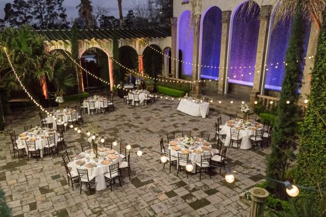 elegant outdoor wedding