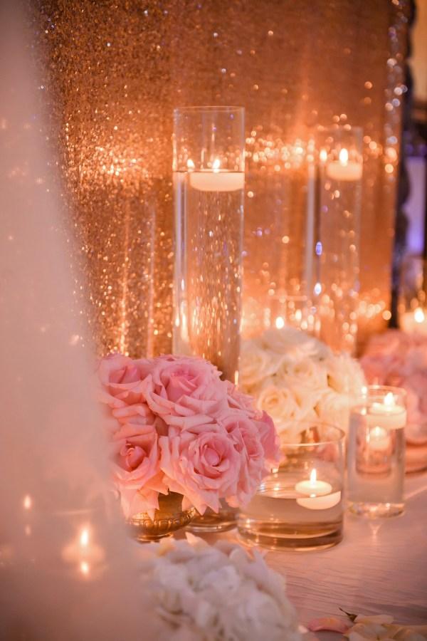 glamorous villa wedding