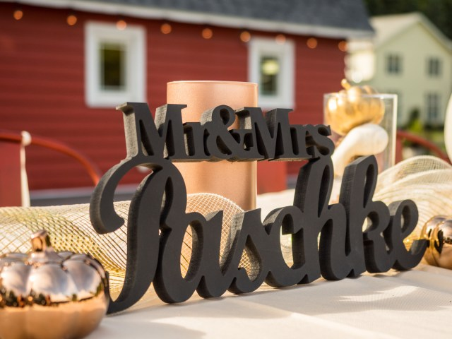 fall barn wedding
