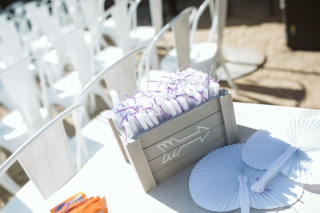 modern purple wedding