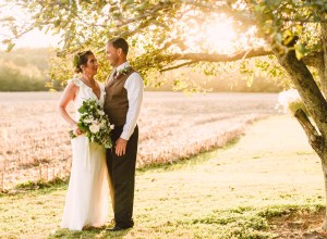 rustic Cincinnati wedding