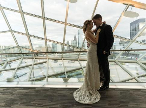 chic urban wedding