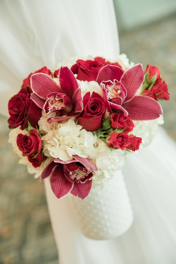 timeless red wedding
