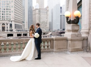 glamorous Chicago wedding