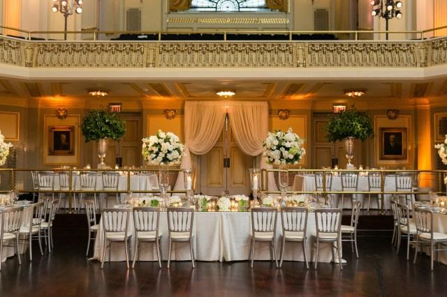 glamorous Chicago wedding