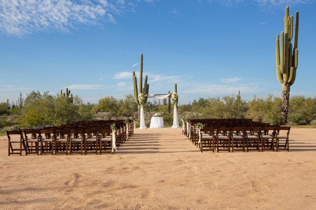 desert barn wedding