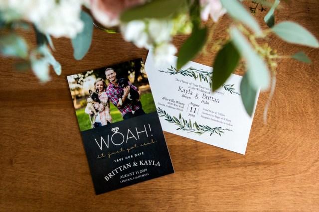intimate vineyard wedding