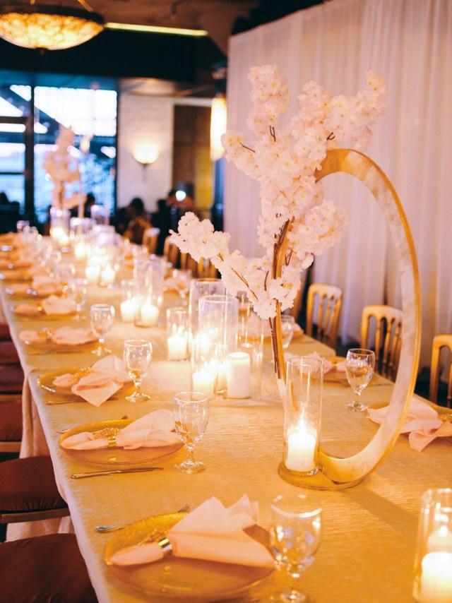 luxury gold wedding