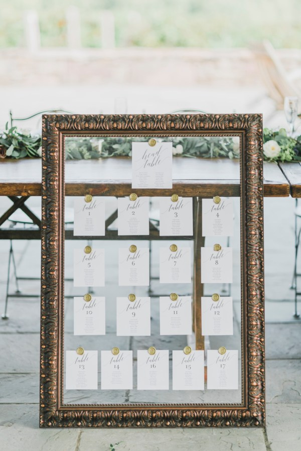 garden-inspired wedding
