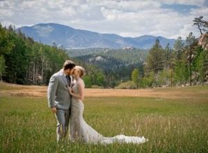 rustic mountain wedding