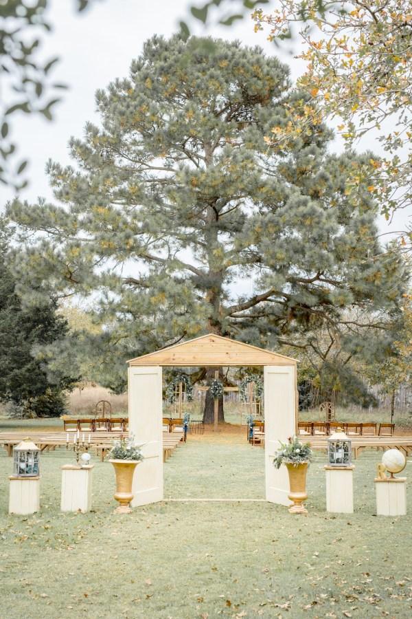 worldly rustic wedding